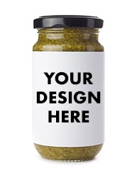 Blank & custom spice and herb jar labels