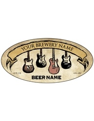 "3.9375""x1.9375 Oval Bottle Label- Artist Series 