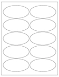 Oval Labels - Custom & Blank Templates
