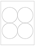 Round Labels - Custom & Blank Templates
