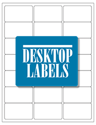 Desktop Labels 3321 Template