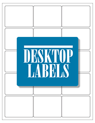 Desktop Labels 3015 Template