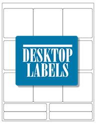 Desktop Labels 3313 Template
