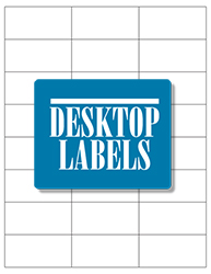 Desktop Labels 3324 Template