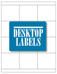 Desktop Labels 3312 Template