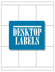 "White Waterproof Labels- 2.833"" x 3.3"" 