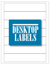 Desktop Labels 8307 Template